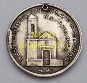 Medalla  Iglesia De La Concepcion Cajamarca Jose Puga