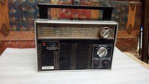 Antigua Radio Sony de 4 Bandas Transitor