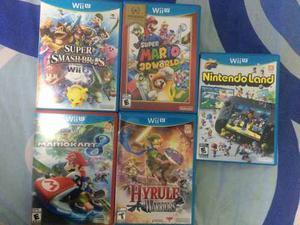 Juegos Wiiu Desde 120 Soles