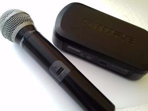 Sistema De Micrófono Inalámbrico Profesional Shure Pg58