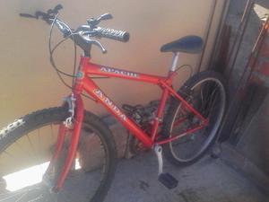 Vendo Bicicleta Montañera marca ANDA aro 26 de aluminio