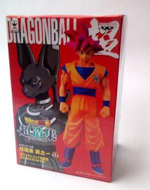 Dragon Ball Z Super S.saiyan God Goku Figura