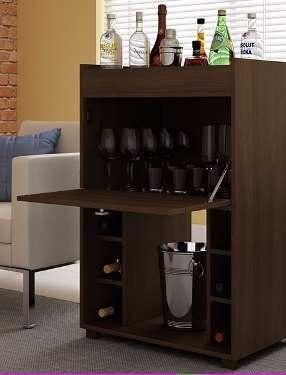 Mueble bar de melamina posot class - Mueble bar moderno ...