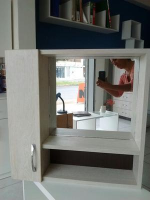Repisa 2 puertas para ba o s posot class for Repisas de bano ikea