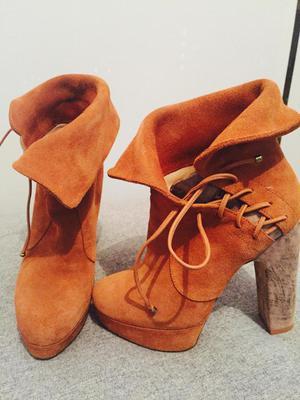 Zapatos Camel Talla 35 Lola by Melissa del Solar