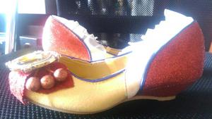 zapatos de princesas Blanca nieves Disney original T