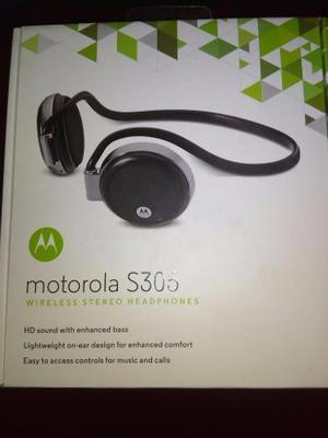Audifonos Bluetooth Motorola S305 Stereo Nuevo Original