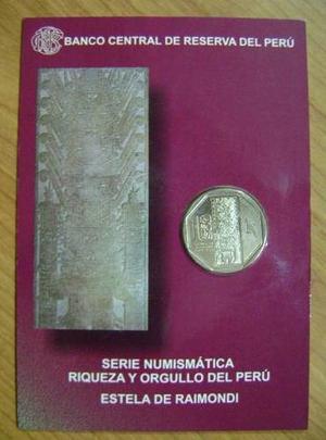 Blister De Monedas Macchu Picchu,estela Raymondi,varios