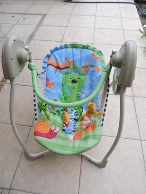 Silla Mesedora Musical para bebe