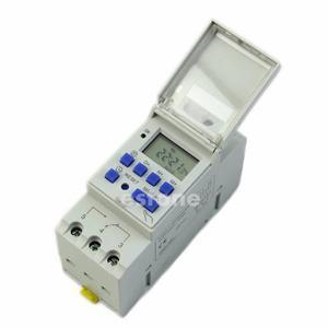 Timer Temporizador Digital Programable Riel 12v