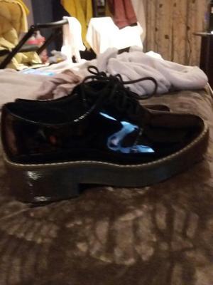 Zapatos de Charol para Mujer Talla