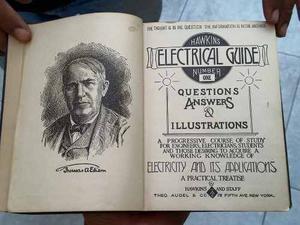 Lote 09 Libros Hawakin Electrical Huide  Thomas Edison