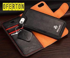 ASE PROTECTOR Elegante 2 en 1 CUERO GENUINO IPHONE 5/5S/SE