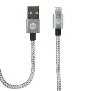 Cable Para Iphone 5,6,7 Enmallado 2 Metros Marca Mobo.