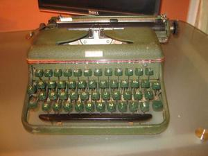 Maquina De Escribir Halda Funciona