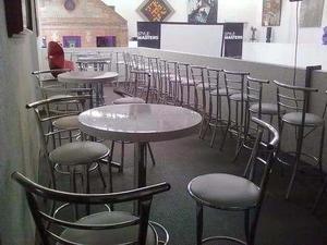 Mesas y sillas altas para bar o discoteca posot class - Mesas altas de bar ...