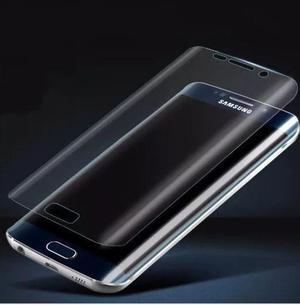 Mica De Gel Transparente Para Samsung Galaxy S8 / S8 Plus.