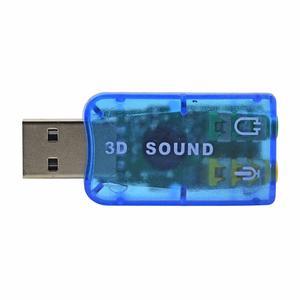 Tarjeta Sonido Usb Audio 3d Microfono Externo Delivery!