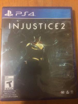 Injustice 2 Nuevo Sellado Juego de play Ps4