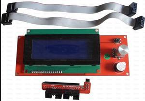 Lcd 20x4 Para Controlador Impresora 3d + Adaptador For Ramps