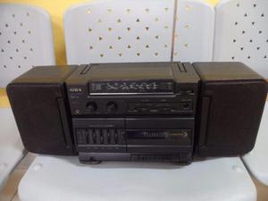 Radio Cassettera Aiwa Antiguo Deck Sony Con Ecualizador