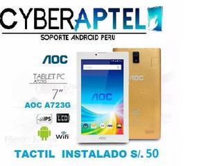 Tablet Aoc A723g Tactil Original