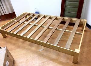 Cama tarima de madera posot class for Tarimas de madera para cama