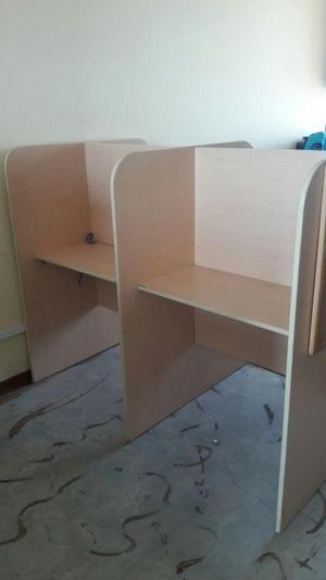 Vendo muebles para call center en melamina posot class for Muebles para call center