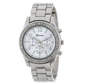 Reloj Geneva Mujer De Metal