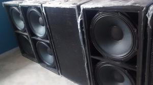 Sub Bajo Vacia Caja Martin Morrison2x18 Pino Sound Solutions