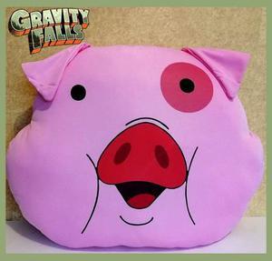 Cerdo Pato Gravity Falls Cojin Tamaño Grande 42cm X 50cm