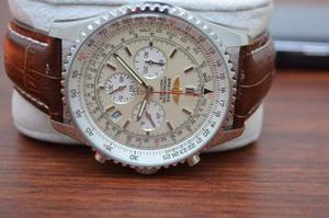 Reloj Breitling Correa De Cuero