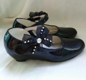 Zapatos De Charol Para Niña Talla 25