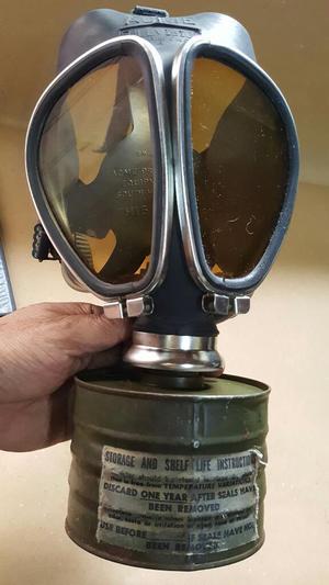 Antigua Mascara Antigas Made In Usa Marca Acme Gratis Envio