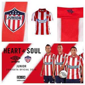 Camiseta Oficial  Del Junior De Barranquilla - Talla Xl