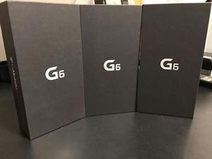 Lg g6 caja sellada