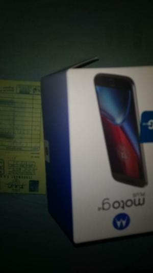 Vendo Motorola Moto G4 Plus