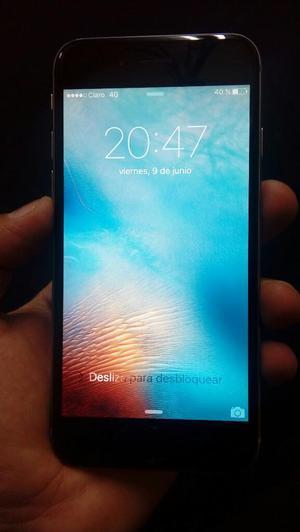 iPhone 6 Space Gray de 64gb Libre