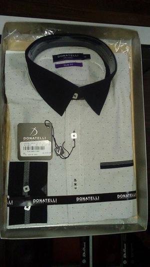 Camisa Donatelli SLIM FIT