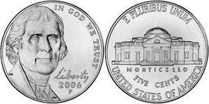 Monedas Antiguas Five Cents  Usa