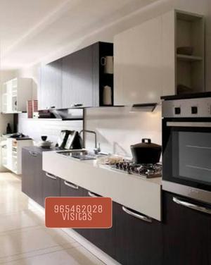 Mueble de cocina reposteros alacenas en posot class for Modulos de cocina