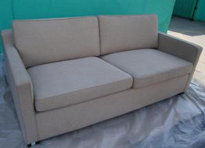 Sofa Cama 02 Plzas. Barrington En Tela Chenille