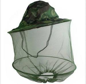 Sombrero Con Tul Protector Para Mosquitos