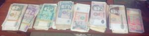 Billete Y Monedas Antiguas Peruanas Intis