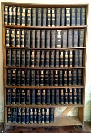 Enciclopedia Espasa Calpe completa 89 tomos