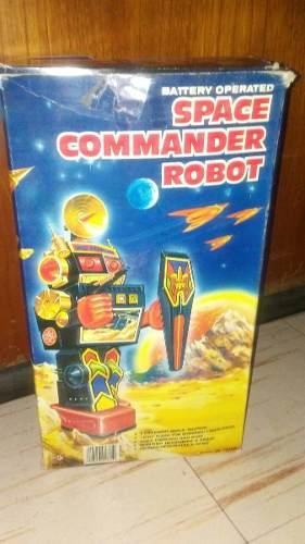 Hcd Antiguo Robot Space Commander