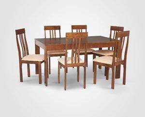 Nuevo juego de comedor 6 sillas lima posot class for Precio juego de comedor con 6 sillas