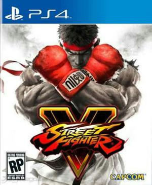 Juego Street Fighter Ps4