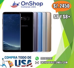 Samsung Galaxy S8 y s8 plus s8 nuevos lg g6 p10 xz ultra