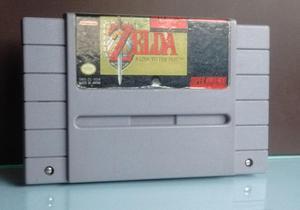 Snes Super Nintendo The Legend Of Zelda: A Link To The Past